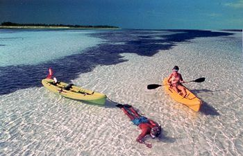 Bahia Honda State Park, an amazing place to kayak.