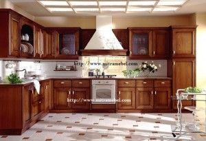 Kitchen Set Minimalis Brown