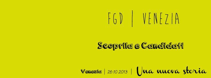 Candidati per la tappa di Venezia il 26 Ottobre