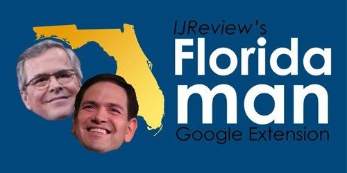 Tool of the Day: Browser Extension Swaps 'Jeb Bush' & 'Marco Rubio' with 'Florida Man'