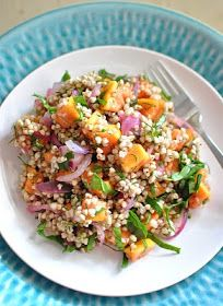 Scandi Home: Rich Mineral Salad a.k.a. Super Healthy Salad