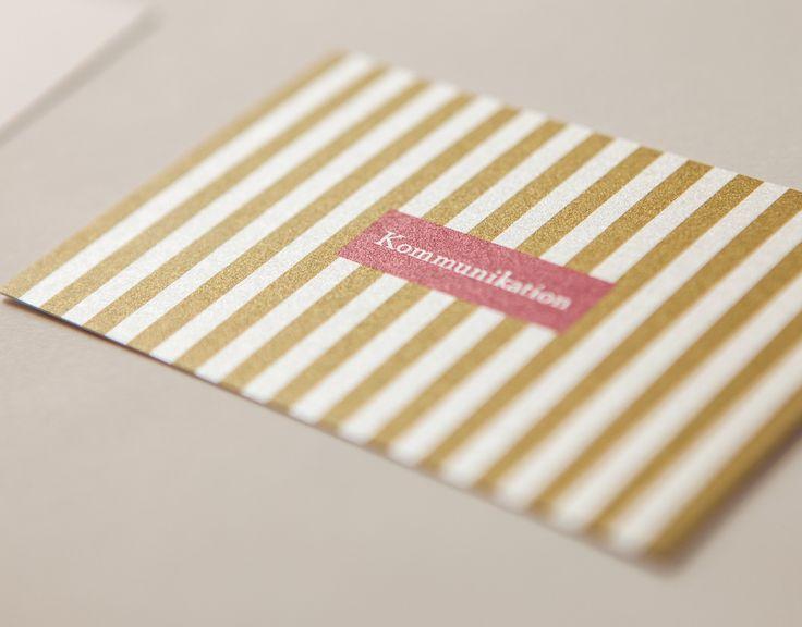 Corporate Design für die Presseberaterin und Kommunikationsspezialistin Barbara Krüger mit Visitenkarte, Kuvert, Briefkopf, Grußkarte und Webauftritt