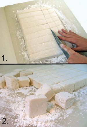 Your Handy Photo Guide for Making Homemade Marshmallows: Cut the Marshmallows