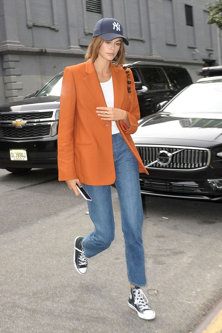 Kaia Gerber's £50 Trainers Are Her Best Investment & You