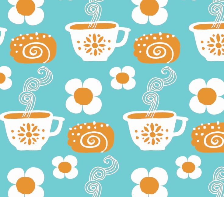 Pikkukiisken kotona: pattern designing