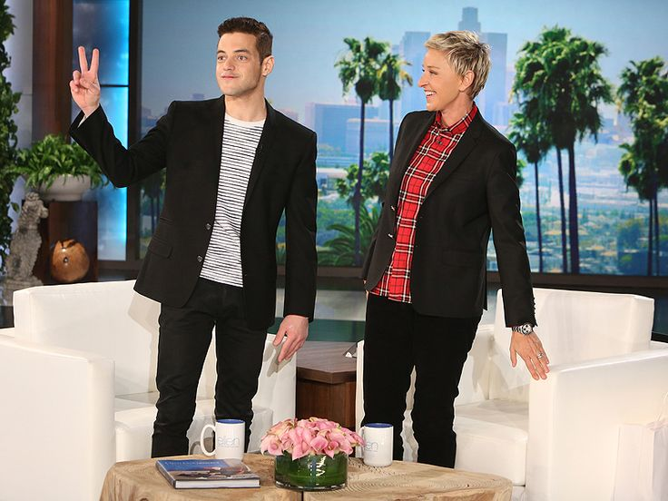 VIDEO: Even Rami Malek's Mom Was Rooting for Jon Hamm at the Golden Globes - People // Rami Malek's Golden Globes date had one person on her mind that night: Jon Hamm.   During Tuesday's episode of The Ellen DeGeneres Show, the Mr. Robot star speaks of his first Golden Globes experience and his leading lady for the night, his mom. http://www.people.com/people/package/article/0,,20972047_20979360,00.html