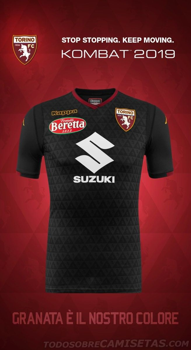 Torino FC Kappa Kits 2018-19  834211f09b04e