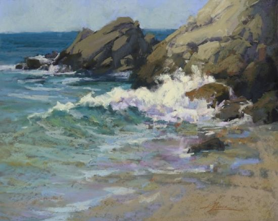 Never Still by Kim Lordier Pastel ~ 16 x 20