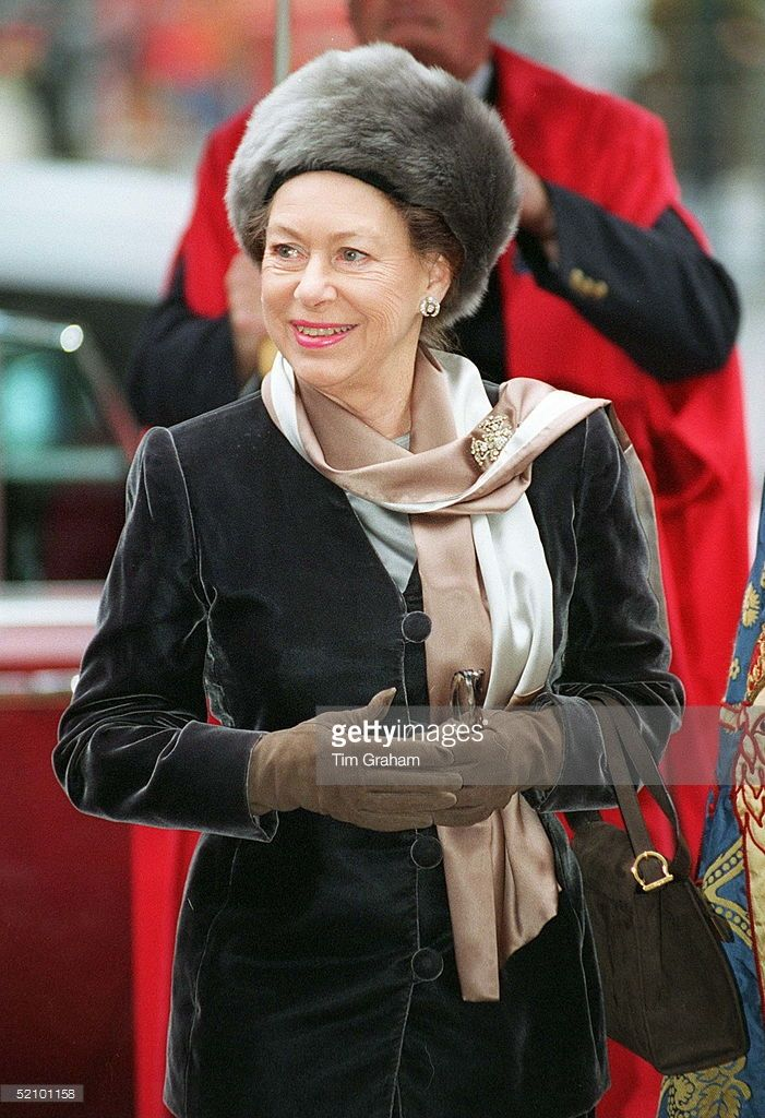 Princess Margaret At A Service At Westminster Abbey To Celebrate The 50th Anniversary Of The Founding Of The National Association Of Almshouses