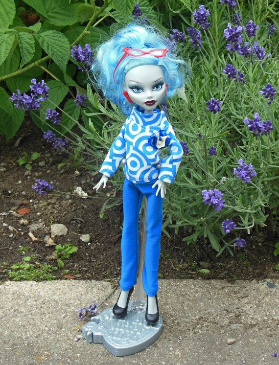 T-shirt and leggings for Monster doll MH doll by LussiFashion