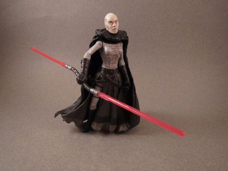 Star Wars The Clone Wars Realistic 03-47 Asajj Ventress (Sith Apprentice) Loose #Hasbro