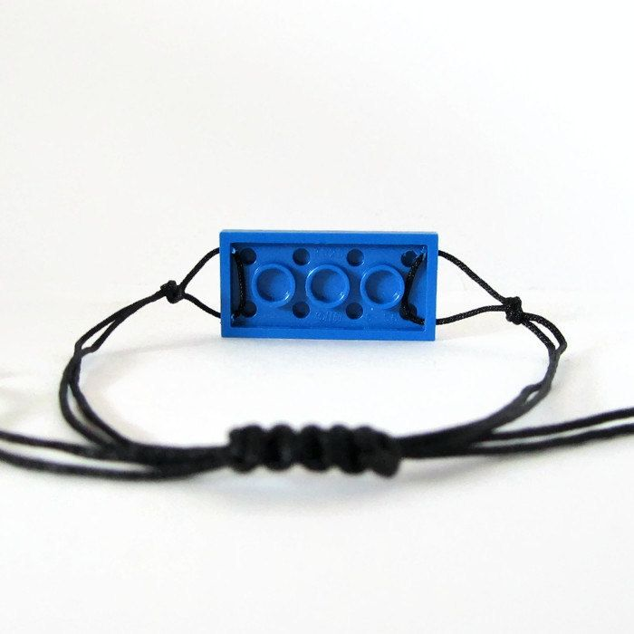 Charm Bracelet-From LEGO® Bricks Friendship by ThinkBricks on Etsy