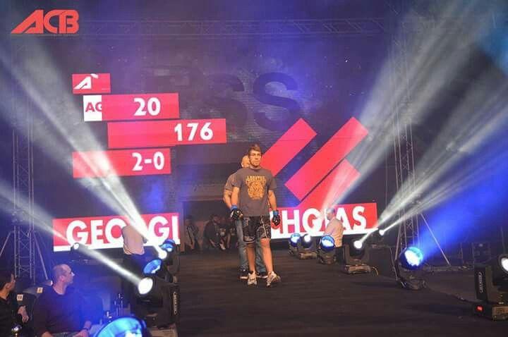 KEXAGIAS GEORGE MMA FIGHTER ACB