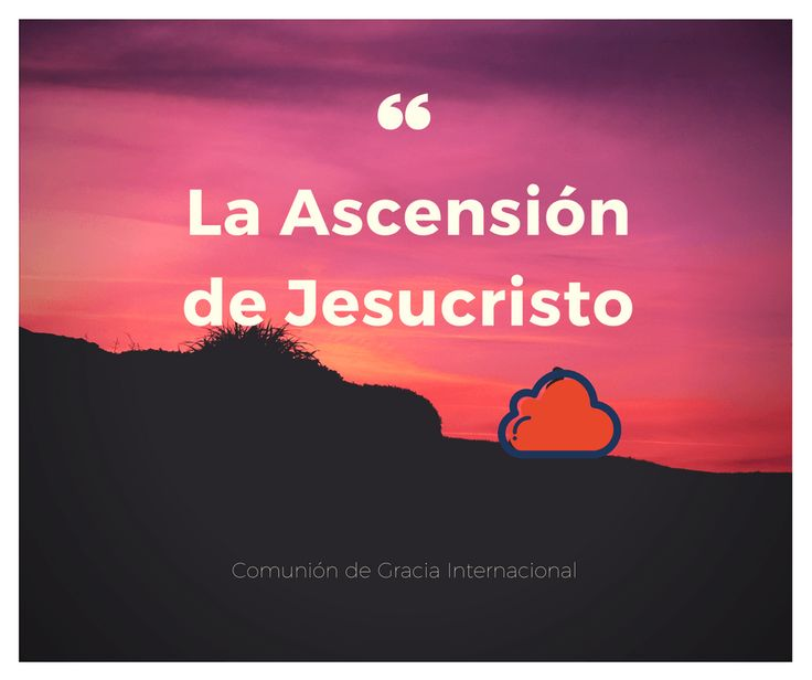 Sermón por el Pastor Héctor Barrero en la congregación de la Comunión de Gracia Internacional en Bogotá, Colombia.            La Ascensión de Jesucristo [Sermón]               La20ascensiC3B3n20-20HC3A9ctor20Barrero.mp3                40.7 MB     3 Downloads     Details                    Autor:Comunión de Gracia Internacional            Category:Sermones    License:Freeware    Date:11/05/2017             Lea más de La Ascensión de Jesucr