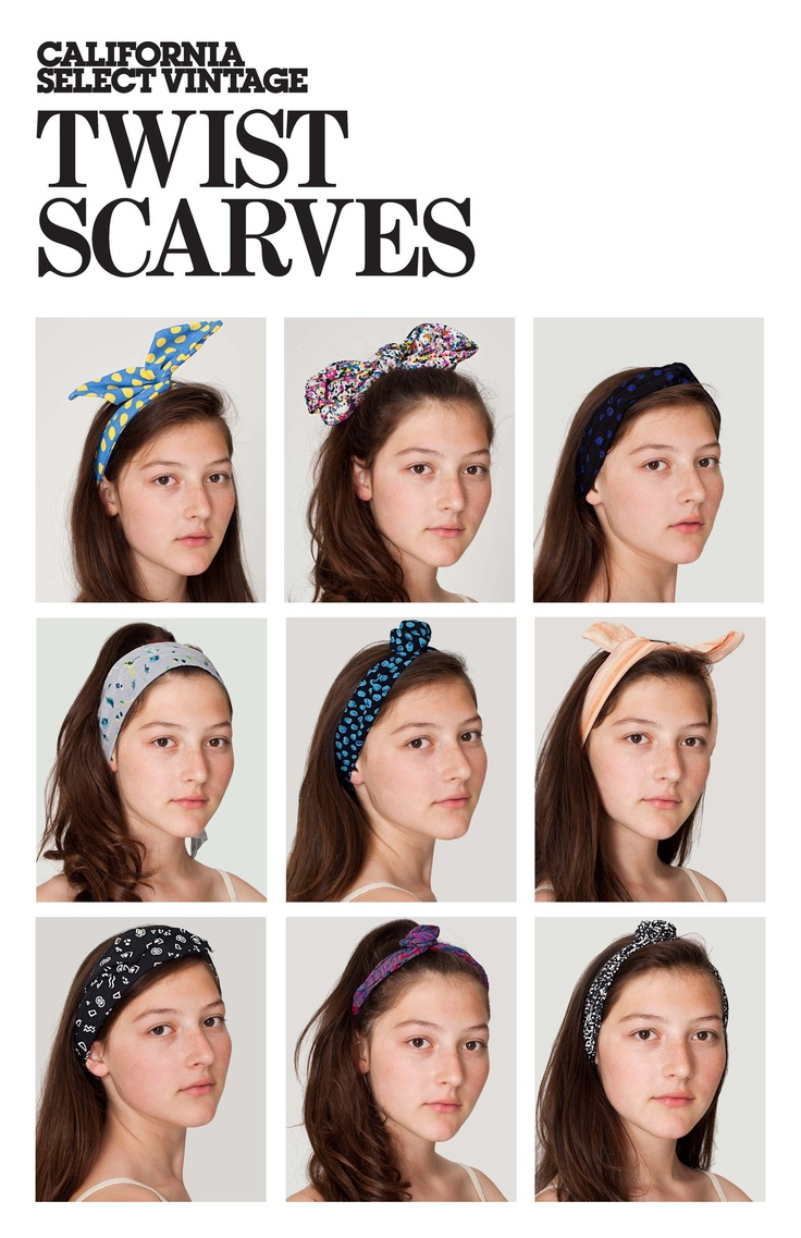 2019 year look- How to american wear apparel headband