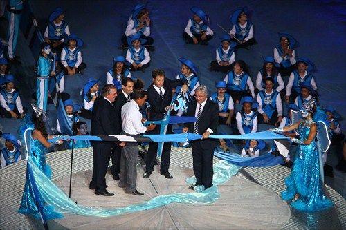 Portal Oficial do Grêmio Foot-Ball Porto Alegrense - Últimas Notícias - Grêmio inaugura a Arena com grande festa e vitória sobre o Hamburgo