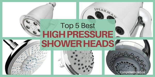 Check out our best high pressure shower head reviews of 2017. Bring a spa-quality shower into your home for as little as thirty bucks!