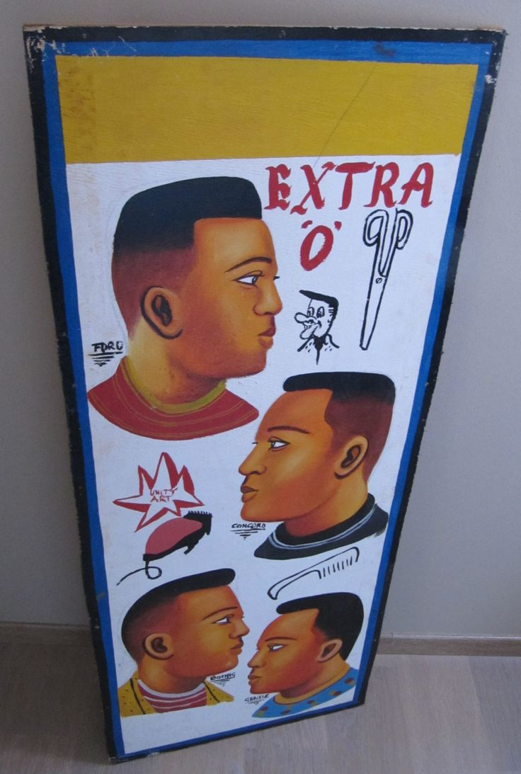 Enseigne de coiffeur barbier africain de la boutique lifestyle66 sur Etsy
