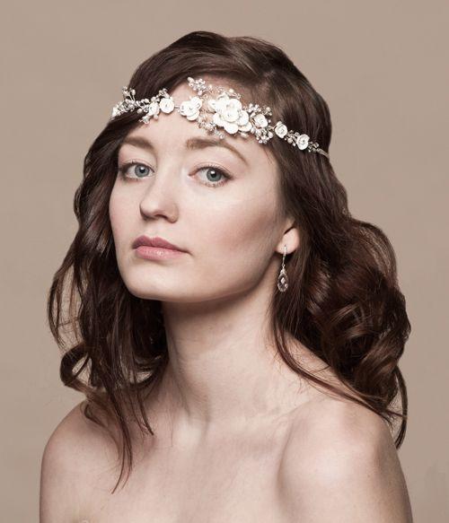 Ti Adoro-Pearl & Crystal Hair Vine