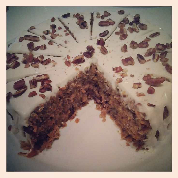 Gluten free Carrot Cake from gingko baked by Terica