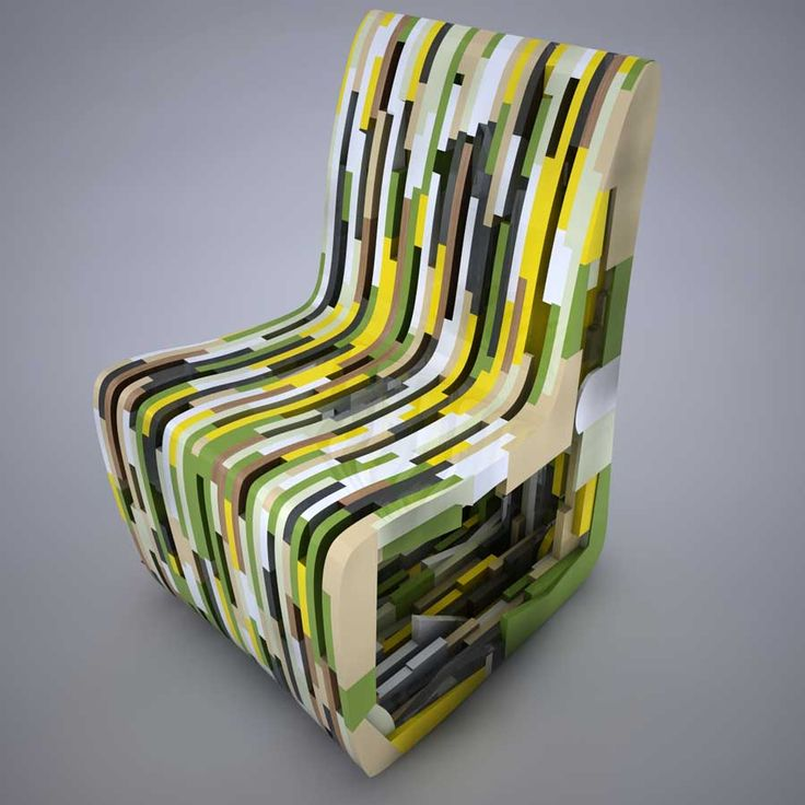 /A\ corian concept chair by Rabih Hage