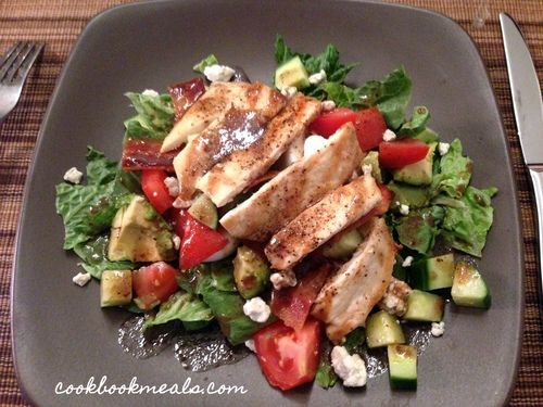 Grilled Chicken Cobb Salad | Salad Recipes | Pinterest