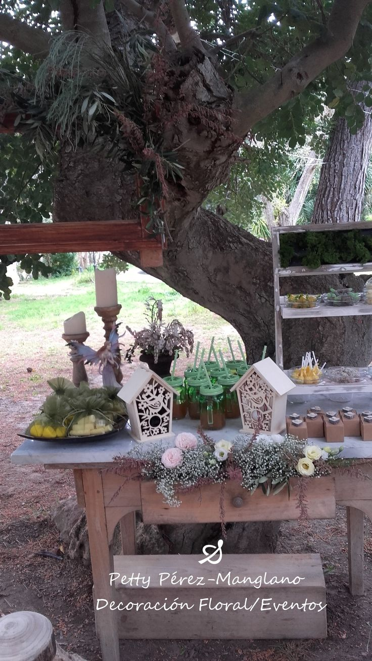 Candy table. Inspiración bosque