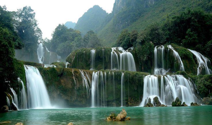 ban gioc waterfall 2016