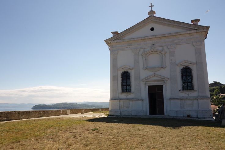 Slovenia travel. Slovenia coast. Piran. Pirano. St. George church.
