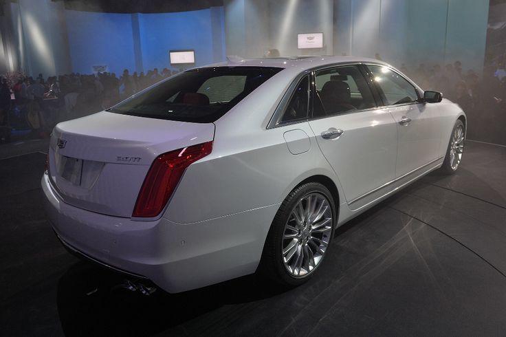 Cadillac CT6 : l'hybride rechargeable dévoilé à Shanghai