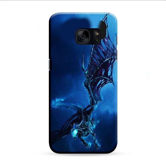 World Of Warcraft Ice Dragon Samsung Galaxy S7 Edge 3D Case