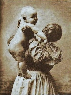 Black slave asian nurse