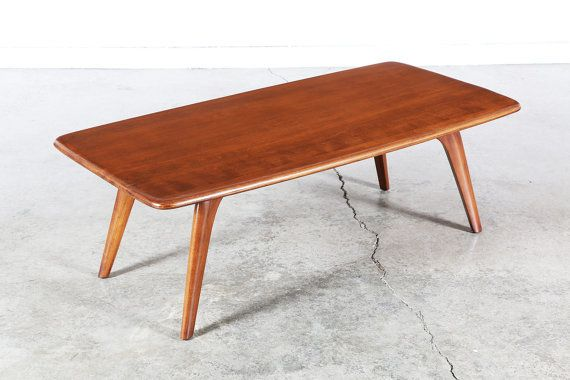 Mid Century Heywood Wakefield Coffee Table by VintageSupplyLA