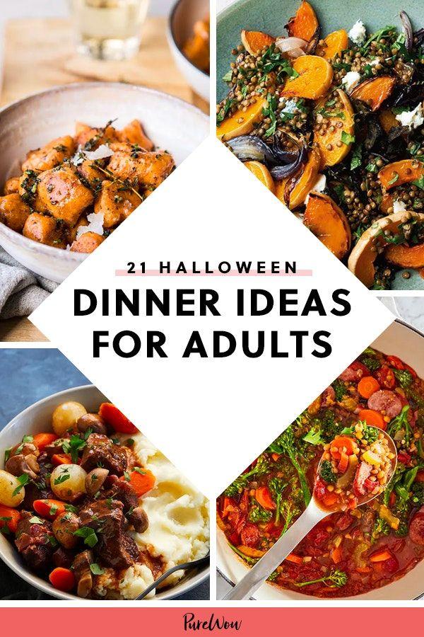 21 Halloween Dinner Ideas For Adults Dinner Dinner Party