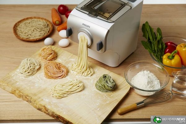 For all noodle fans - homemade fresh in 15min. Philips - Automatic fresh noodle maker customized for Japanese market | AkihabaraNews
