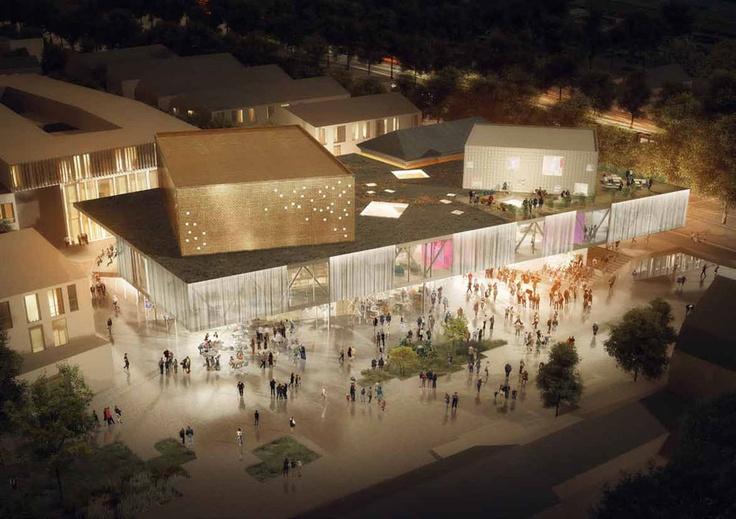 Nuovo Centro culturale a Køge