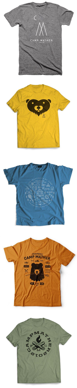 Camp Mather T-shirts