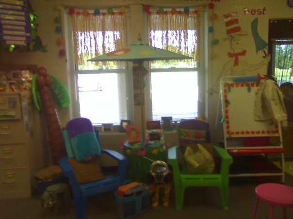 beach themed classroom  www.schoolgirlstyle.comCenter Ideas, Beach Schools Theme, Beach Theme Classroom, Reading Centers, Luxury House, Classroom Decor, Modern House, Classroom Ideas, Beach Themes