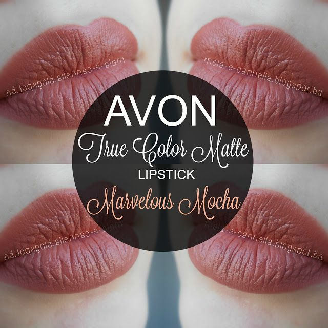 mela-e-cannella: Avon True Color Matte Lipstick - Marvelous Mocha