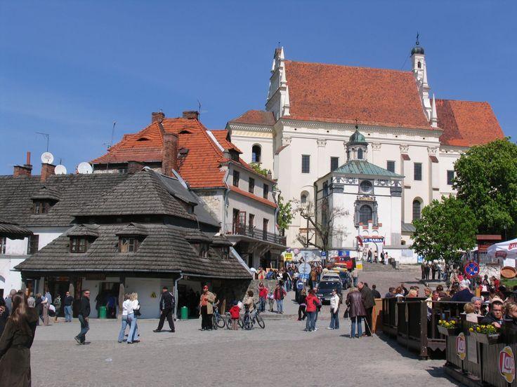 Kazimierz Dolny im Polen Reiseführer http://www.abenteurer.net/2700-polen-reisefuehrer/