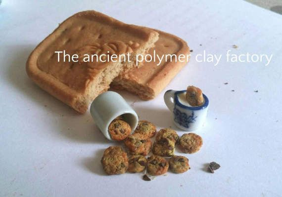 Guarda questo articolo nel mio negozio Etsy https://www.etsy.com/it/listing/512227079/miniature-milk-and-cookies