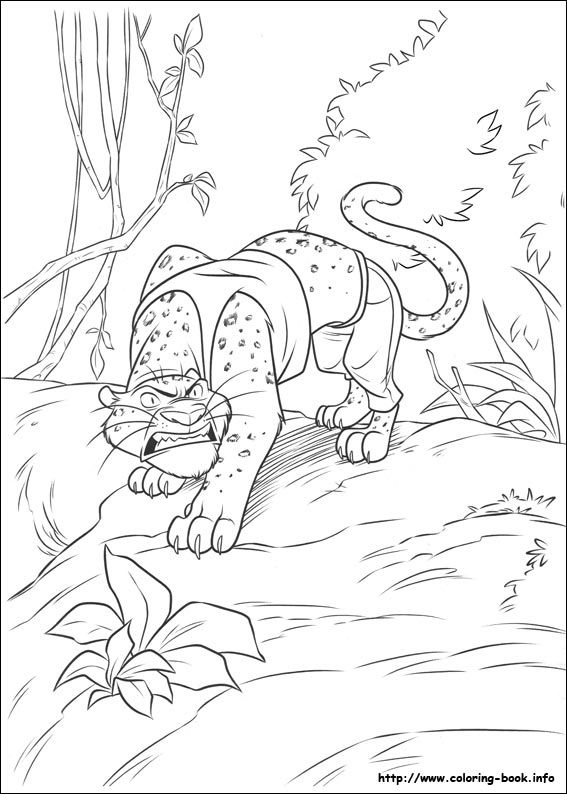 Zootopia Coloring Pages 17