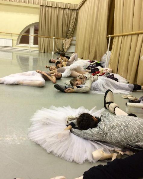 "tsiskaridze: ""Meanwhile, at Vaganova Ballet Academy… """