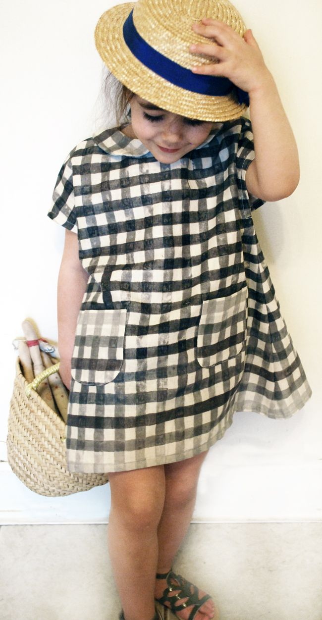 cute dress idea. petit à petit and family: KCW Day 2... a little bit japanese!
