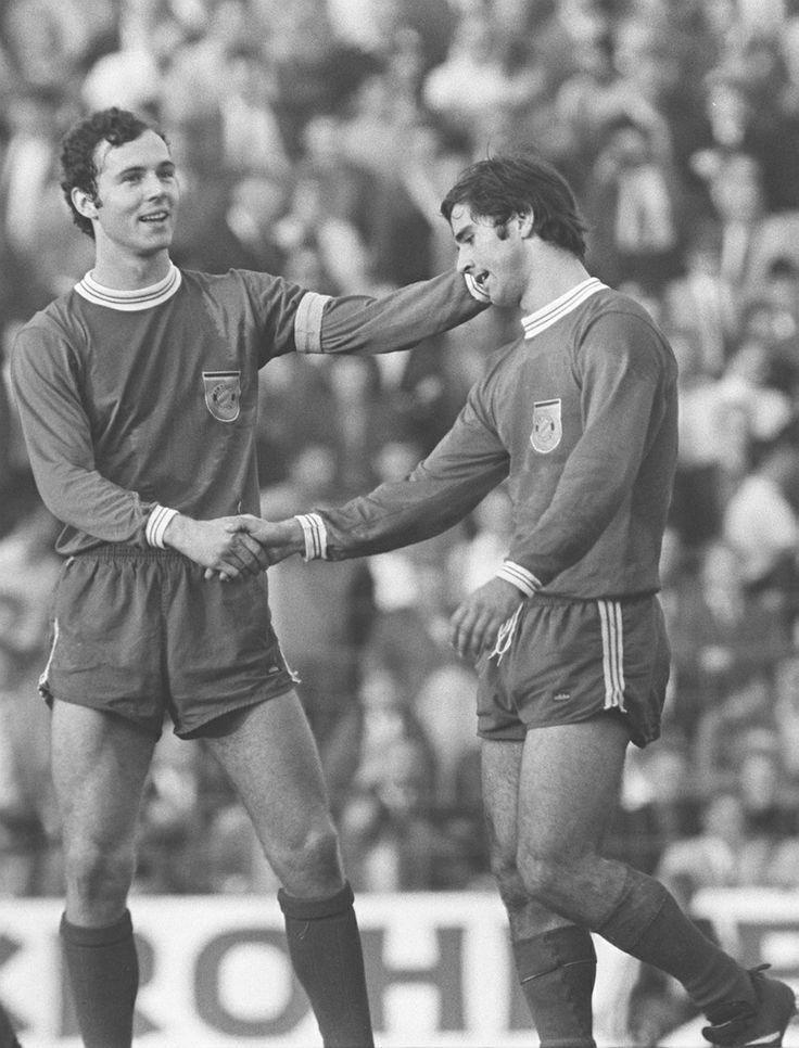 Franz Beckenbauer et Gerd Müller (1969)