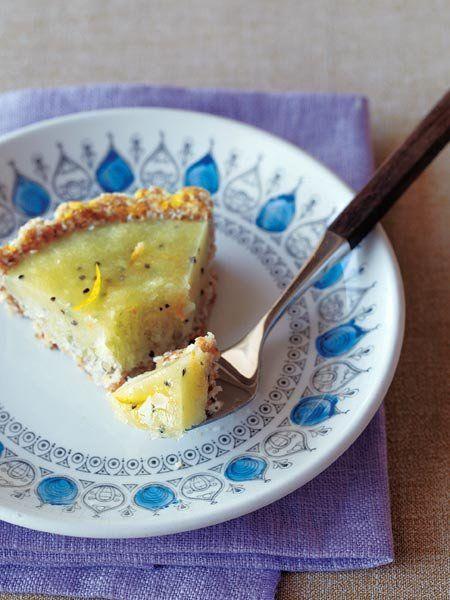 【ELLE a table】洋梨とキウイフルーツのフローズンタルトレシピ|エル・オンライン