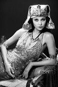 Thandie Newton as Theda Bara as Cleopatra