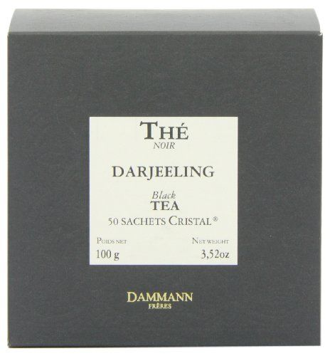 DAMMANN DARJEELING TEA BAGS BOX OF 50 *** You can find out more details at the link of the image. Note: It's an affiliate link to Amazon.