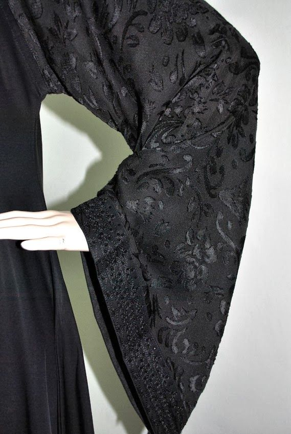 Welcome to Aida Abaya Shoppe : Exclusive Dubai and Saudi Arabia Abaya 2014 Collections.: EXCLUSIVE SAUDI ABAYA PRINCESS CUT