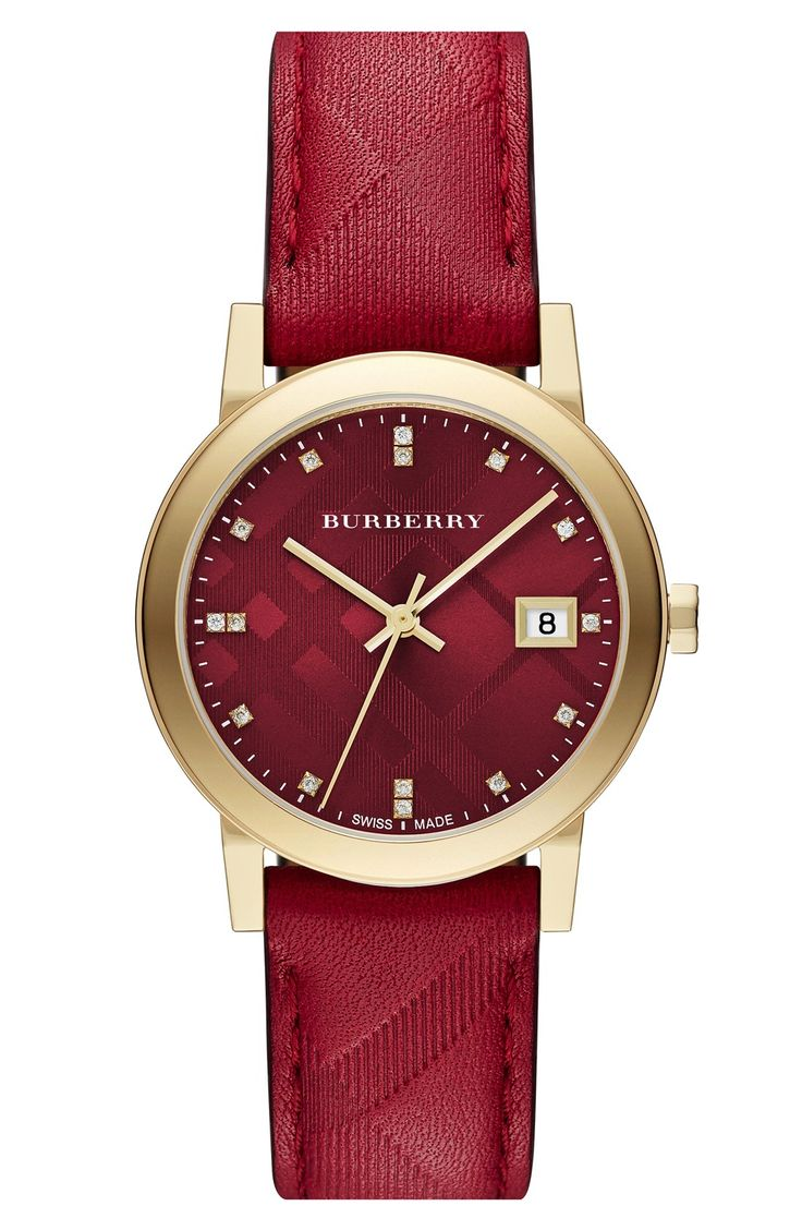 of on front watches maroon made swiss classic dial watch page collectioncropped custom your name personalised
